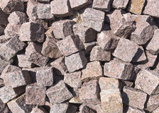 Pile of Paving Stones. Pile of red paving stones. Can be used as background Stock Photo