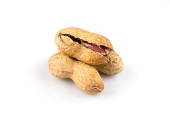 Pile of peanuts close up Royalty Free Stock Photo