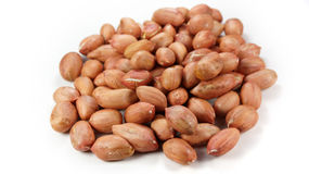 a pile of peanuts. Details pile of peanuts material Royalty Free Stock Photo