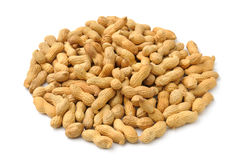 Pile of peanuts Royalty Free Stock Images