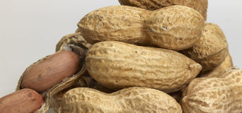 Pile of peanuts Stock Image