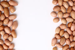 Pile of peanuts with skin Stock Photo