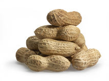 Pile of peanuts Stock Images