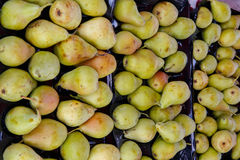 Pile of pears from a market Royalty Free Stock Images