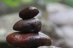 Pile pebble Stock Photo