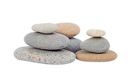 Pile of pebble stone Royalty Free Stock Images