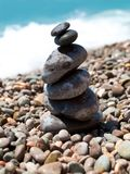 Pile of pebble stones Stock Photos