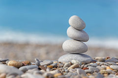 Pile of pebble stones Stock Images