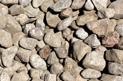 Pile of pebble stones. Stock Images