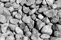 Pile of pebble stones. Royalty Free Stock Image