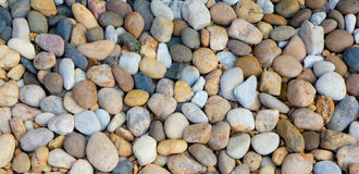 Pile of pebbles Royalty Free Stock Photos