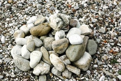 Pile of pebbles Royalty Free Stock Image
