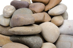 Pile of pebbles Stock Images