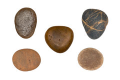 Pile of pebbles. Royalty Free Stock Photo