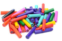 A pile of pen refills Royalty Free Stock Image