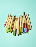 Pile of pencils Royalty Free Stock Image