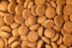 Pile pepernoten, ginger nuts Sinterklaas Stock Photo
