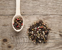 Pile of peppercorn Royalty Free Stock Photography