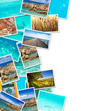 A pile of photographs Royalty Free Stock Images