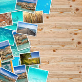 A pile of photographs Royalty Free Stock Photo
