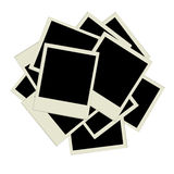 Pile of photos, insert your pictures into frames Royalty Free Stock Photography