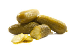 Pile of pickles Stock Photos