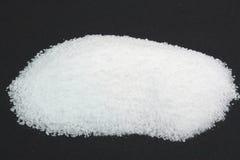 Free Pile Pickling Salt Over Black. Stock Images - 14482814