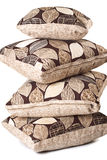Pile of pillows stock images