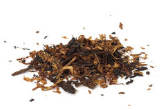 Pile of pipe tobacco Stock Image