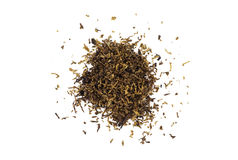 Pile of Pipe Tobacco isolated on white Stock Photos