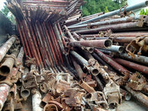 A pile of pipes Royalty Free Stock Images