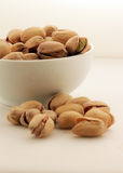 A pile of pistachio nuts royalty free stock photos
