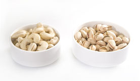 Pile of Pistachios and Cashew Stock Image