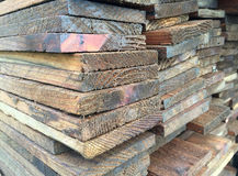 Pile of ply wood Stock Photography