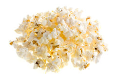 Pile of popcorn Stock Images