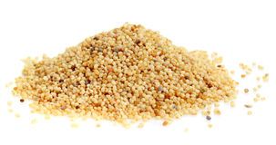 Pile of Poppy seeds Royalty Free Stock Photography