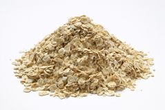 Pile of Porridge Oats Stock Photos