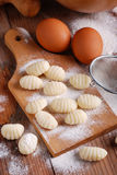 Pile of potato dumplings Royalty Free Stock Images