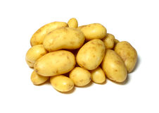 A Pile of Potatoes Stock Image