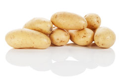 Pile of potatoes Royalty Free Stock Photos