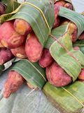 Pile of potatoes royalty free stock photo