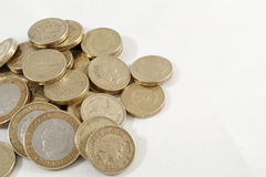 Pile of pounds Stock Image