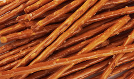 Pile of pretzel sticks Stock Photo