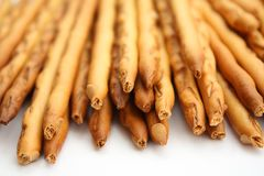 Pile of pretzels breadsticks Stock Photography