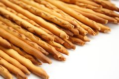 Pile of pretzels breadsticks Royalty Free Stock Photo
