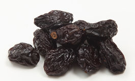 Pile of prunes closeup Royalty Free Stock Photography