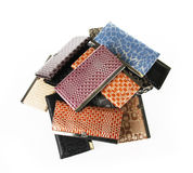 Pile of purses Stock Images