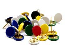 Pile of push pin Royalty Free Stock Image