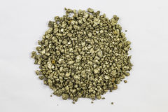 Pile of Pyrite royalty free stock images