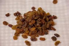 Pile of raisins Stock Photos
